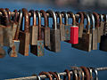 Love locks on Bryggebroen 2.jpg