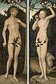 Lucas Cranach d.Ä. - Adam und Eva (Gemäldepaar), Art Institute of Chicago.jpg