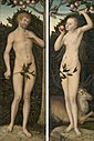 Lucas Cranach d.Ä. - Adam und Eva (Gemäldepaar), Art Institute of Chicago.jpg