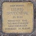 Ludwig Spangenthal Stolperstein in Eisenach.jpg