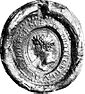 Seal of King Louis the German of East Francia