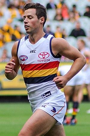 Luke Brown (footballer, born 1992) - Brown in April 2017