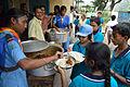 Lunch - Summer Camp - Nisana Foundation - Sibpur BE College Model High School - Howrah 2013-06-09 9865.JPG