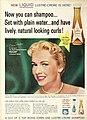 Lustre Crème Shampoo ad with Vera Miles, 1960.jpg