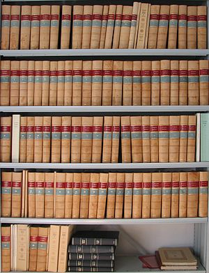 Weimar edition of Martin Luther's works - Various books of the Weimarer Ausgabe