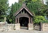 Lychgate at St Andrew's Church, Bebington 1.jpg
