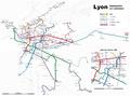 Lyon - transports en commun - Farben nach Linienschema der TCL.png