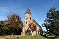 Mézières-au-Perche église Notre-Dame tour ouest Eure-et-Loir France.jpg