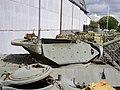 M10 Achilles Tank Destroyer turet, photographed at the Aalborg Forsvars- og Garnisonsmuseum.JPG