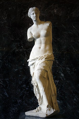 Louvre - The Venus de Milo was added to the Louvre's collection during the reign of Louis XVIII.