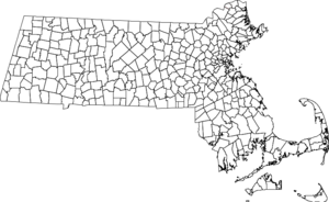 New England town - Massachusetts cities and towns. All territory of the state is within the bounds of a municipal corporation.