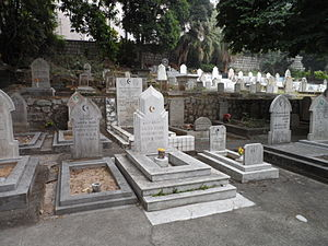 Islam in Macau - Macau Muslim Cemetery