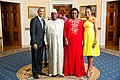 Macky Sall with Obamas 2014.jpg