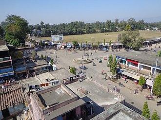 Kanchanpur District - Madan Chowk at Bhimdatta municipality