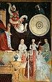 Maestro della cappella bracciolini (senese o pistoiese), storie di maria e santi, 1400-25 ca., trionfo di s. agostino 05.jpg