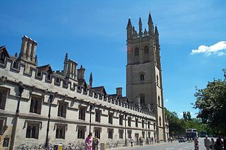 C. S. Lewis - Magdalen College, Oxford