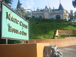 The Magic Castle - Magic Castle entrance