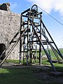 Magpie Mine Header Gear and Cage - geograph.org.uk - 1572483.jpg