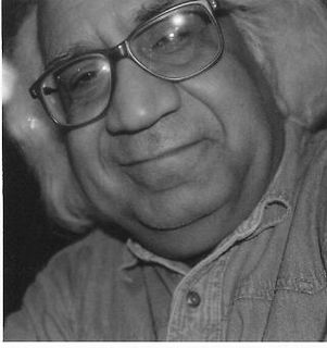 "Mahirwan Mamtani Indian Painter, member of group ""Neo-Tantra-Art"""
