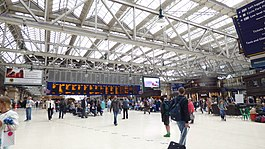Main Concourse at Glasgow Central Station.JPG