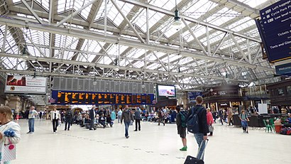 How to get to Glasgow Central Station with public transport- About the place