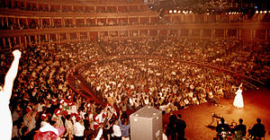 Majida El Roumi - Majida on stage during her concert at the Royal Albert Hall, London in 1994.