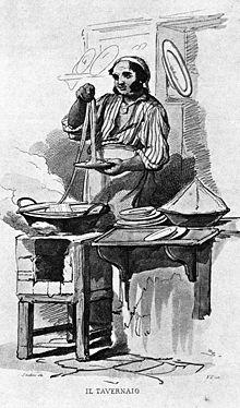 Litografia tratta da un originale di Teodoro Duclère (1816–1869), intitolata