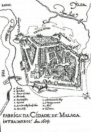 "Portuguese Malacca - ""Construction of Malacca City: Intramuros Anno 1604"" by Manuel Godinho de Eredia"