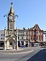 Mallock memorial clocktower, Torquay.jpg
