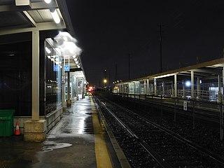 Malton GO Station railway station in Ontario, Canada