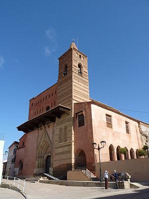 Maluenda - Image: Maluenda Iglesia de Santa María