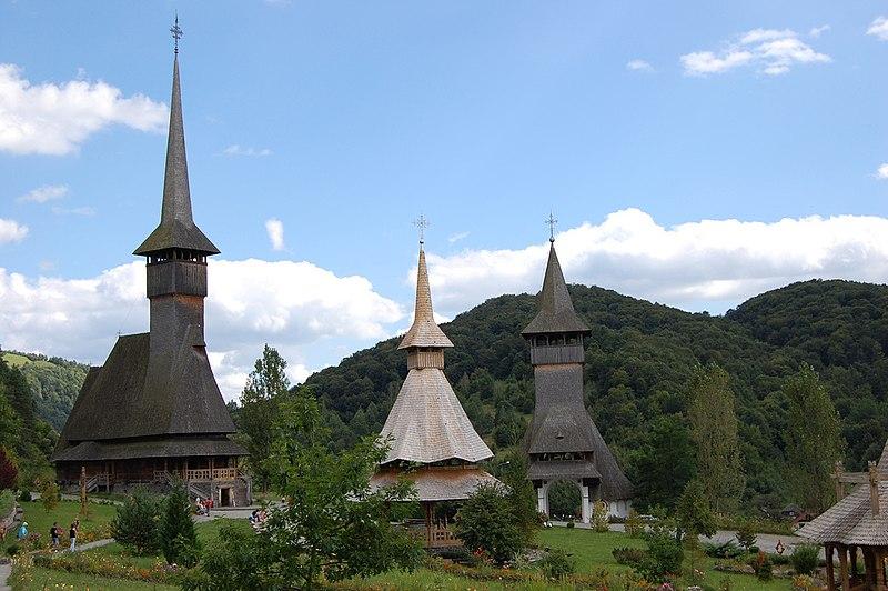 Arquivo: Manastirea Barsana Maramures - vedere de ansamblu.jpg