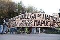 Manifestación mapuche Valpo 2010.jpg