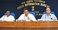 Manish Tewari addressing at the release of seven Documentary Films on good governance initiatives, in New Delhi. The Minister of State for Personnel, Public Grievances & Pensions and Prime Minister's Office.jpg