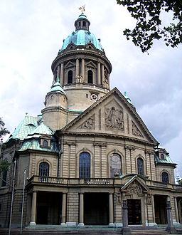 Mannheim Christuskirche 2005