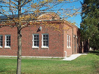 Mansfield Armory - Mansfield Armory, October 2009