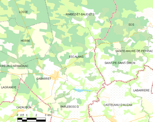 Map commune FR insee code 40093.png
