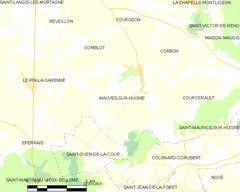 Map commune FR insee code 61255.png