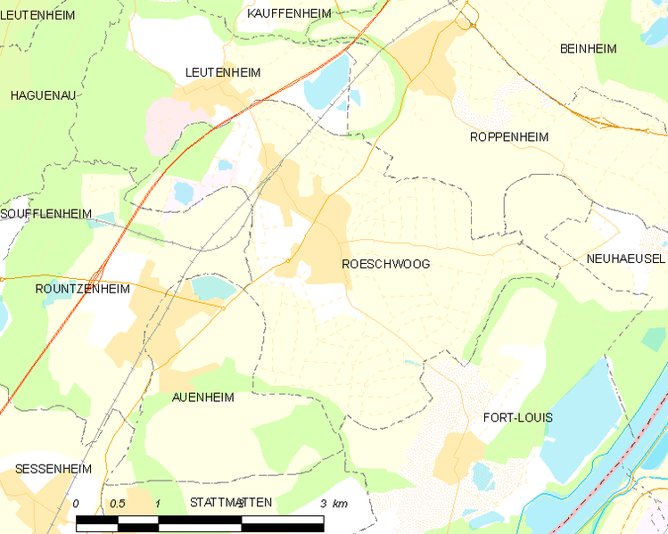 Archivo:Map commune FR insee code 67405.png