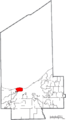 Map of Cuyahoga County Ohio Highlighting Lakewood City.png