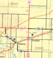 Map of Haskell Co, Ks, USA.png