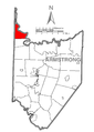 Map of Perry Township, Armstrong County, Pennsylvania Highlighted.png