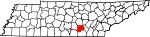 State map highlighting Grundy County