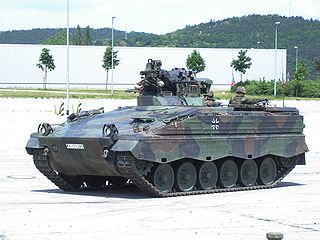 Marder 1A3 infantry fighting vehicle