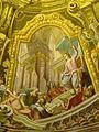Maria Taferl Fresko . Kuppel 9 Jesus und die Schriftgelehrten.jpg