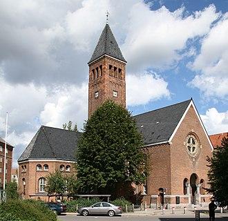 Mariendal Church - Image: Mariendals Kirke Copenhagen
