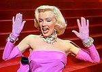 Monroe berperan sebagai Lorelei Lee dalam Gentlemen Prefer Blondes (1953)