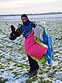 Mariusz Bieniek skydiver, Gliwice 2017.12.30 (01).jpg