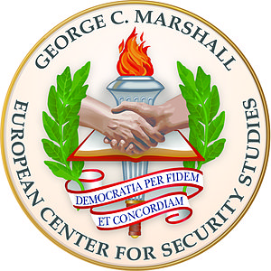 George C. Marshall European Center for Security Studies - Image: Marshall Center Seal