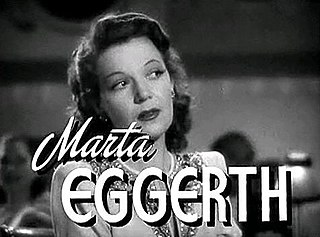 "Marta Eggerth singer/actress from ""The Silver Age of Operetta"""